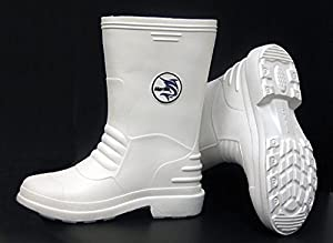 Marlin white rubber boots size 12 fishing for White fishing boots