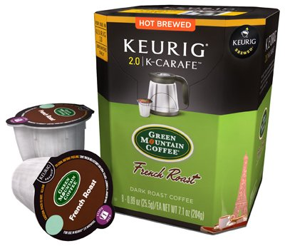 Keurig 114697 8 Count French Roast Carafe