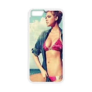 iPhone 6 Plus 5.5 Inch Cell Phone Case White Kate Upton Swim Suit Sea Girl FaceSLI_804350