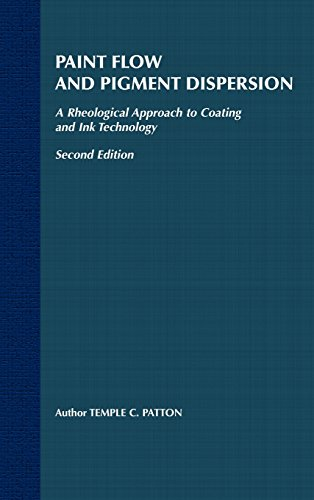 Paint Flow and Pigment Dispersion: A Rheological Approach to Coating and Ink Technology