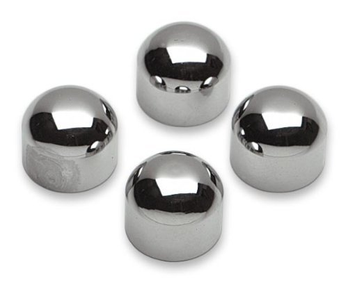 Cycle Visions BareBack Chrome Caps - Chrome by CycleVisions