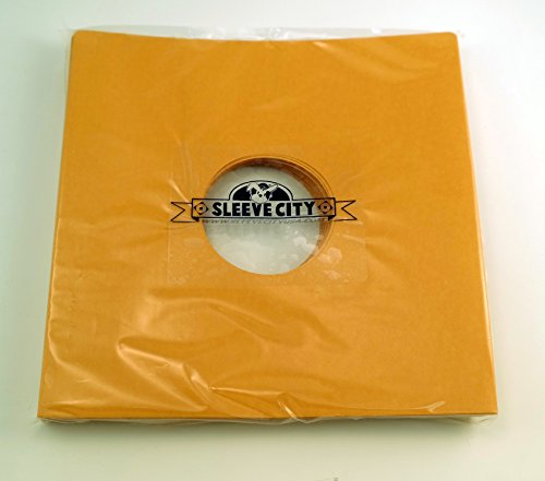 Gold Kraft Paper inch Sleeve