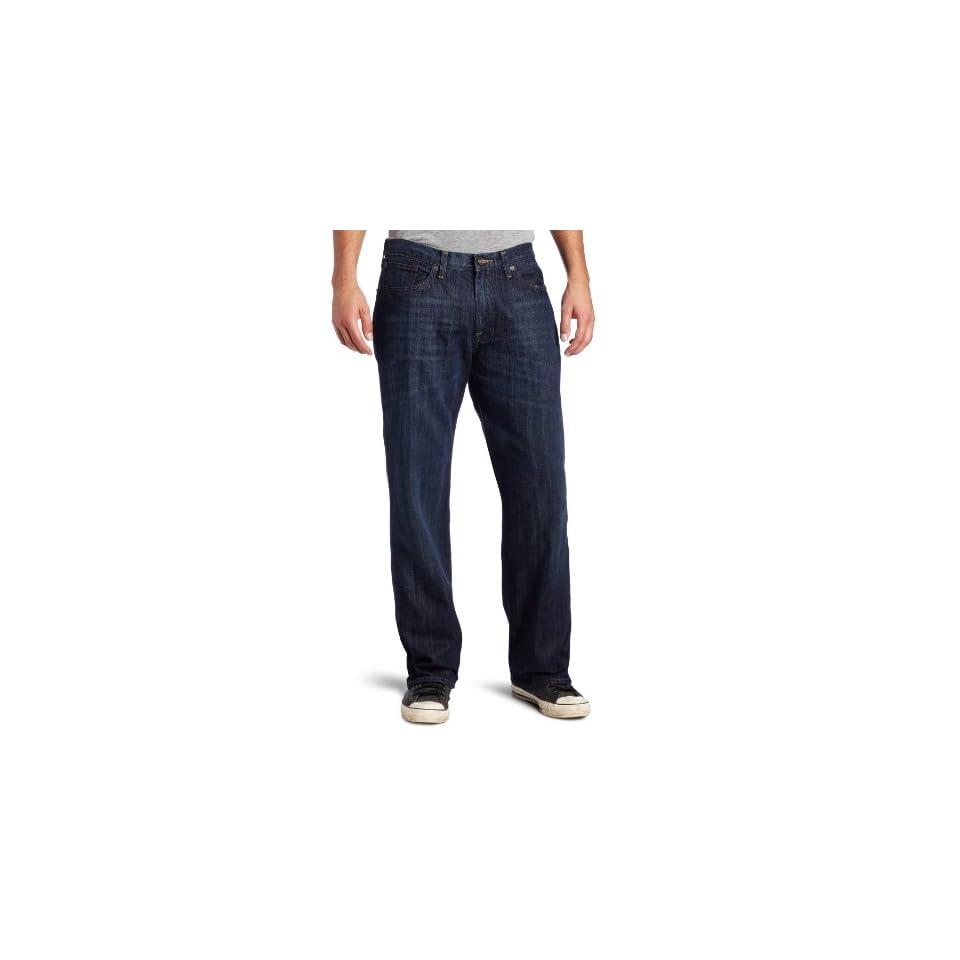 Lucky Brand Mens 361 Vintage Straight Leg Jean in Ol Oklahoma