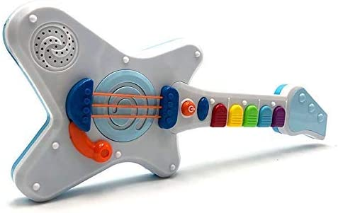 Tachan- Guitarra Infantil Rock and Roll Luminosa (LS8822): Amazon ...