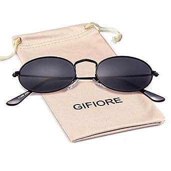 0b89557ba6e5 Oval Sunglasses Vintage Retro Sunglasses Designer Glasses for Women Men:  Amazon.co.uk: Clothing
