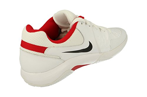 Nike NIKE AIR ZOOM Resistance CLY – Sneaker, Herren, Weiß (White/black-university Red)