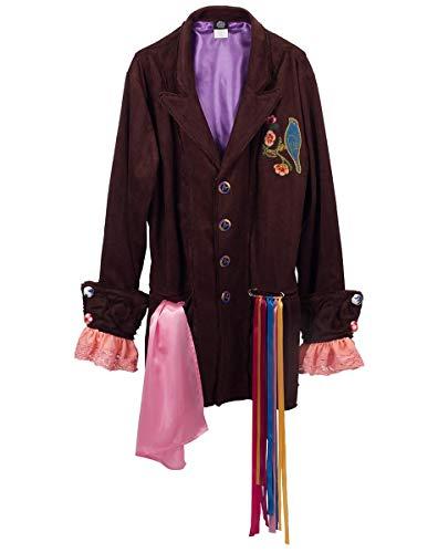 elope Men's Mat Hatter Tea Party Replica Jacket (S/M)