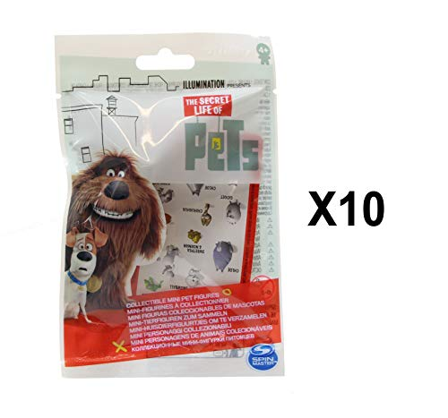 The Secret Life of Pets Collectible Mini Pets Figure Packs Series 2 Party Favours - Pack of 10