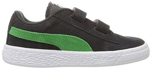 Puma Kids Suede 2 Straps Sneaker Asphalt-andean Toucan