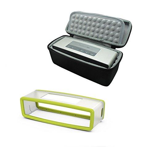 VPOWER® Tragetasche Reisetasche Schutzhülle Hülle Case für Bose SoundLink Mini 1 + 2 Bluetooth Lautsprecher Wireless Speaker (SET 3)