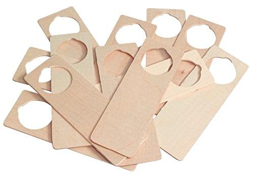 - Wood Door Hangers - 12 Count
