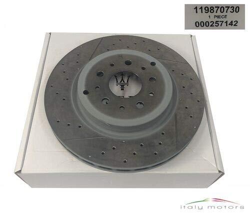 Disco de freno original para eje delantero 257142 119870730 Maserati