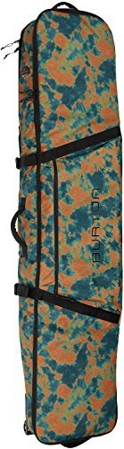 Burton Wheelie Board Case Snowboard Bag, Mountaineers Tie Dye Prnt, Size 156