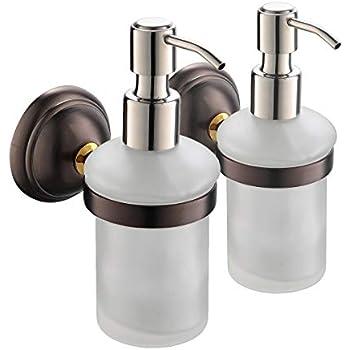 Amazon Com Crown Hand Soap Dispenser Oil Rubbed Bronze