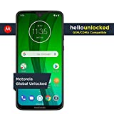 Wireless : Moto G7 with Alexa Hands-Free - Unlocked - 64 GB - Ceramic Black (US Warranty) - Verizon, AT&T, T-Mobile, Sprint, Boost, Cricket, & Metro