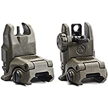Magpul Industries USA MBUS Front & Rear Flip Up Backup Sight GEN 2 - 247-248 Made In The USA