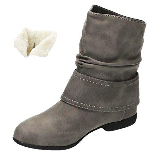 Shoes Gris King Of Bottes Femme Souples pwp5XqxP