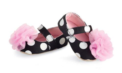 Mud Pie Baby-girls Newborn Rosette Mary Janes, Multi, - Mud Pie Shoes