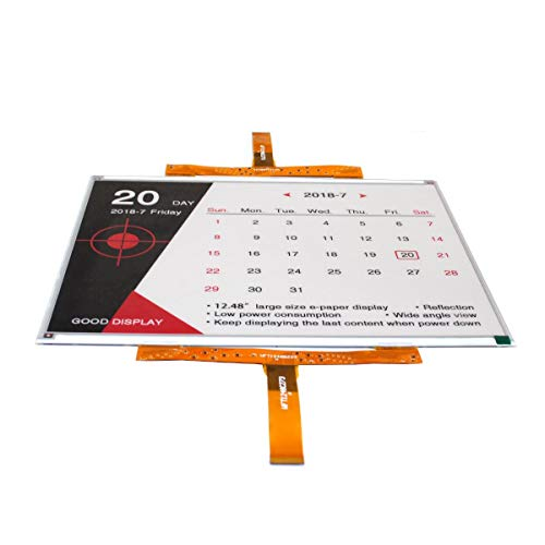 GooDisplay 12.48 Inch Color Large E-Paper Screen Eink Display Electronic Paper Display Panel Black White Red by GooDisplay (Image #2)