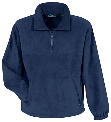Tri-Mountain Men's 1/4-Zip Panda Fleece - Quarter Zip Pullover Fleece
