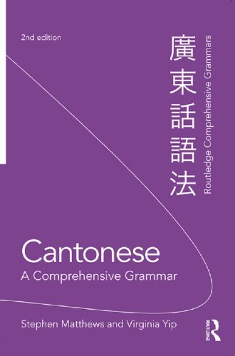 Cantonese: A Comprehensive Grammar (Routledge Comprehensive Grammars) Pdf