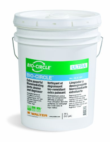 Walter 55A107 Bio-Circle Ultra Cleaner and Degreaser, 20L Pail by Bio-Circle