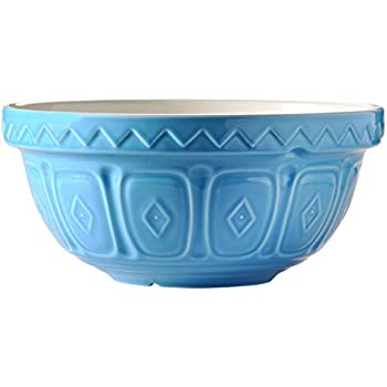 Amazon Com Mason Cash Colored Mixing Bowl Blue 2 15