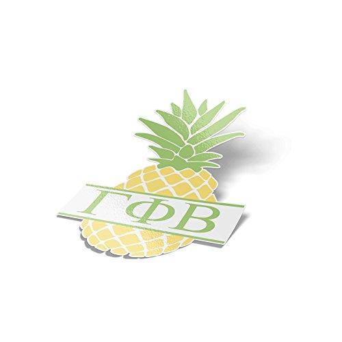 - Desert Cactus Gamma Phi Beta Pineapple Letter Sticker 4 Inch Tall Sorority Decal Greek for Window Laptop Computer Car