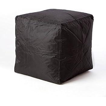 Amazon Com Big Joe Square Storage Ottoman 15 Inch