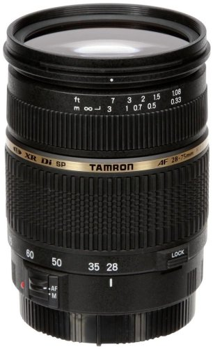 Tamron AF 28-75mm f/2.8 SP XR Di LD Aspherical (IF) for Canon (Model A09E) - International Version (No Warranty)