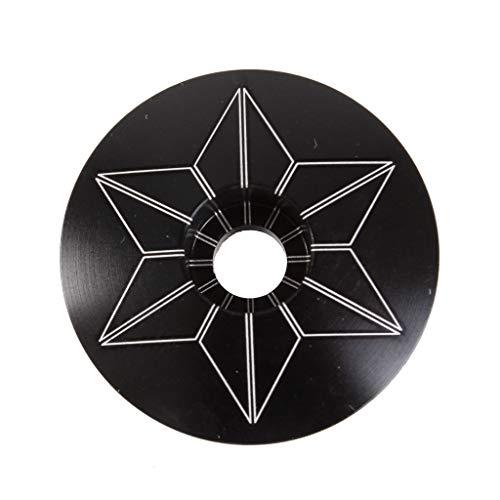Supacaz Carbon Ano Laser Etched Star Cap - SZ-24A