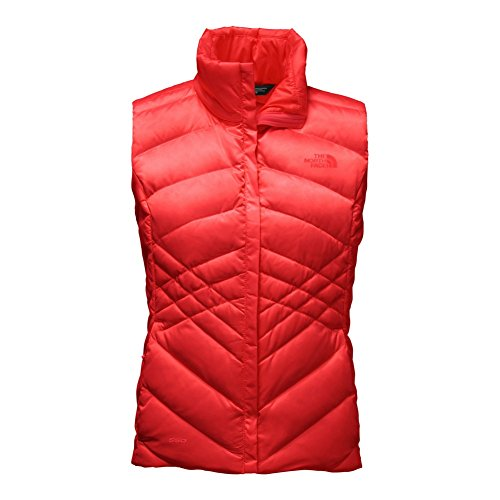 North Face Aconcagua Vest Women's High Risk Red Medium
