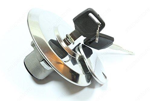 Cap Lock Keys for Honda Night Hawk Silverwing Hondamatic Interceptor CB1000C CB 650 CB750 CM400 CM450 GL500 GL650 ()