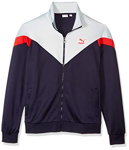 (PUMA Men's MCS Track Jacket, Peacoat X-Large)