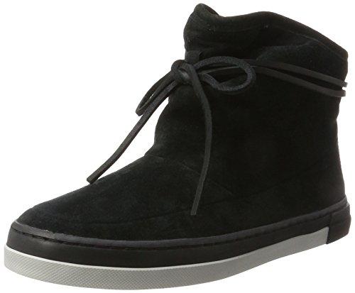 Hub Queen Boot N30, Sneaker a Collo Alto Donna Schwarz (Black/Black-neutral Grey)
