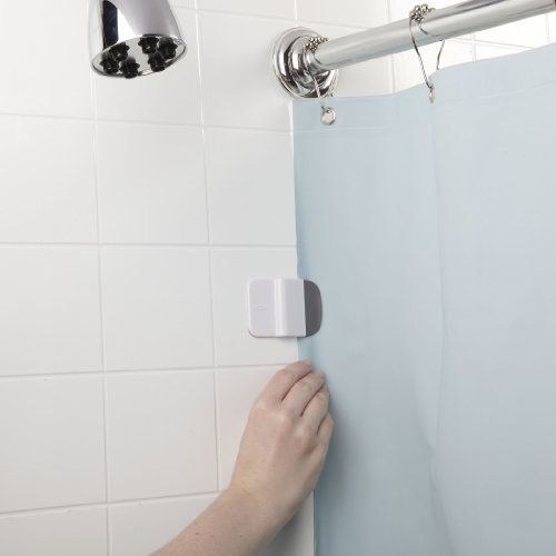 Amazon.com: OXO Good Grips Shower Curtain Liner Splash Guard Clip: Home U0026  Kitchen
