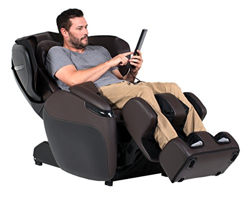 Opus Amazon-Exclusive Limited Edition Zero Gravity Recliner Heating Massage Chair, Espresso Color Option