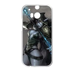 HTC One M8 Cell Phone Case White Defense Of The Ancients Dota 2 DROW RANGER 001 PWI3492999