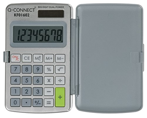 Q – Connect – Calculadora de bolsillo de 8 dígitos