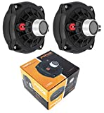 "2X Pro Compression 1"" Super Driver Loud 300 Watts 8 Ohm Car Audio PRV D250Ph-S"
