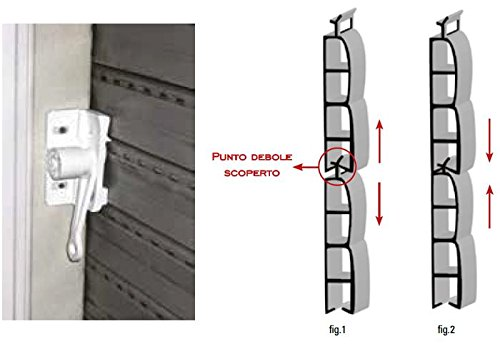 Sistema antintrusione Blindo bloqueo Robo protecci/ón persianas antisollevamento