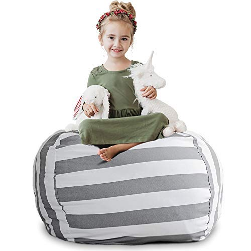 - Creative QT Stuffed Animal Storage Bean Bag Chair - Extra Large Stuff 'n Sit Organization for Kids Toy Storage - Available in a Variety of Sizes and Colors (38