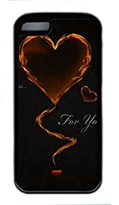 This Is For You Custom Personalized Design DIY Back Case for iPhone 5C TPU Black -1210212