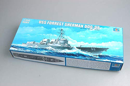Trumpeter 1/350 Scale USS Forrest Sherman DDG98 Arleigh Burke Class Guided Missile Destroyer