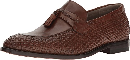 Clarks Men's Twinley Free Tan Woven Leather Shoe (Woven Footwear Leather)
