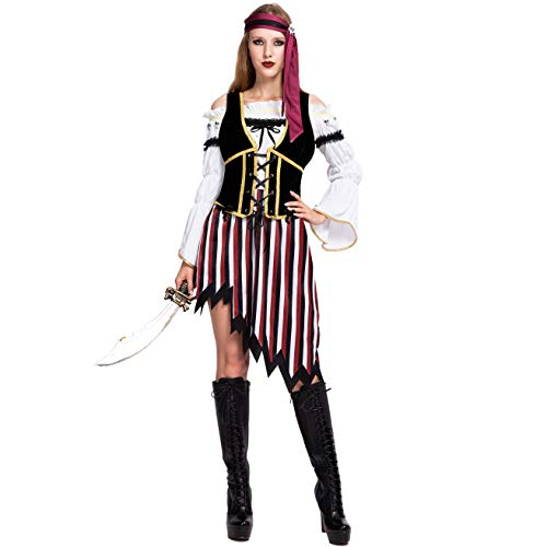 Spooktacular Creations High Seas Pirate Wench Captain