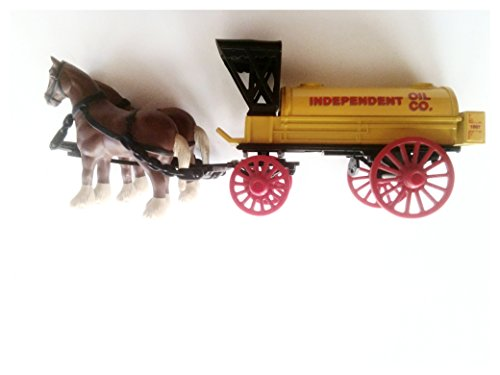 ERTL Die Cast Horse and Wagon Tanker Bank for sale  Delivered anywhere in USA