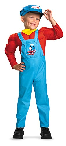 Muscle Tank Costumes The Thomas (Baby-Toddler-Costume Thomas The Tank Muscle Toddler Costume 2T)
