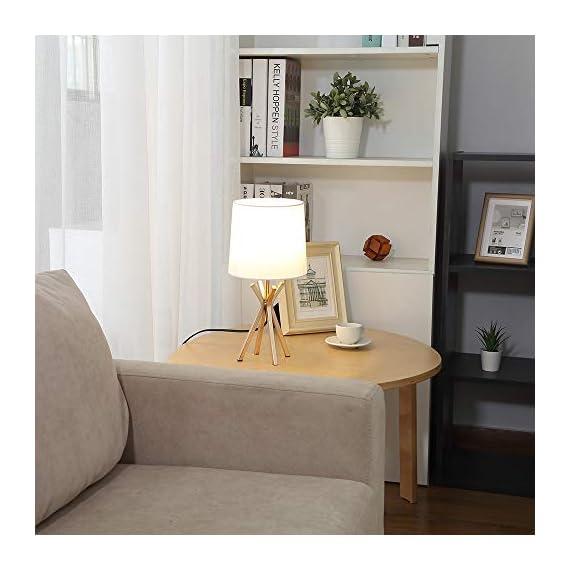 CASILVON Table Lamp YTL009G-2N (Rose) -  - lamps, bedroom-decor, bedroom - 41dz%2BzrPAoL. SS570  -
