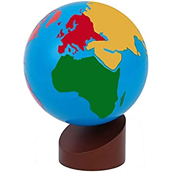 New sky enterprises montessori globe world - Globo terraqueo amazon ...